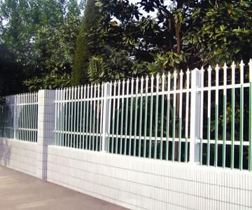 镀锌钢制围墙护栏lx-04