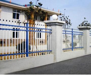镀锌钢制围墙护栏lx-07